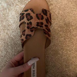 Steve Madden Leopard Sandals